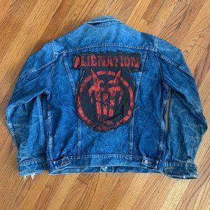 Dickies VTG Alienation Anthrax Patch Denim Jacket